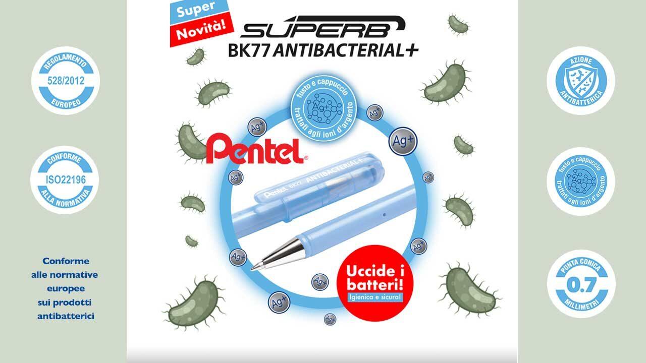 pentel - antibatterica - stationery - big buyer